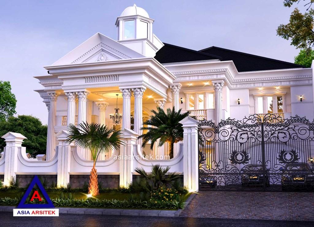 Contoh Denah Rumah Kampung  jasa desain rumah mewah klasik hook modern di jakarta 19