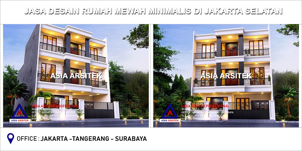 Jasa Arsitek Desain Rumah Mewah Minimalis Di Jakarta Selatan