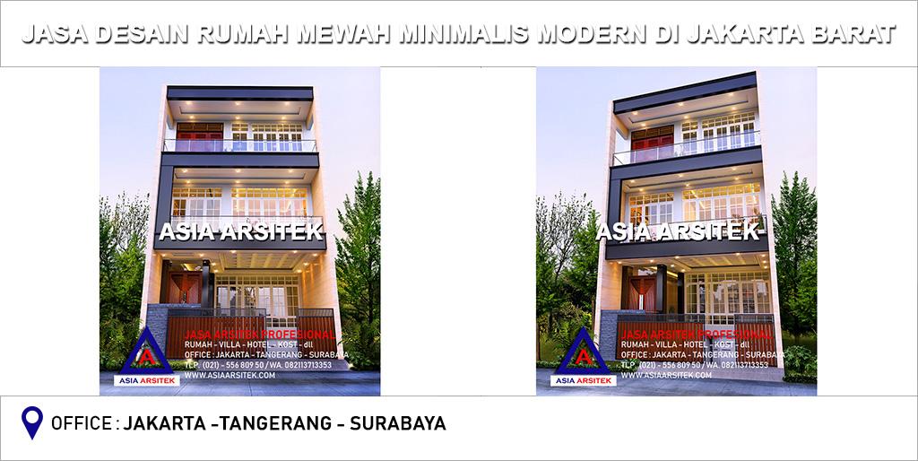 Jasa Arsitek Desain Rumah Mewah Minimalis Modern Di Jakarta Barat