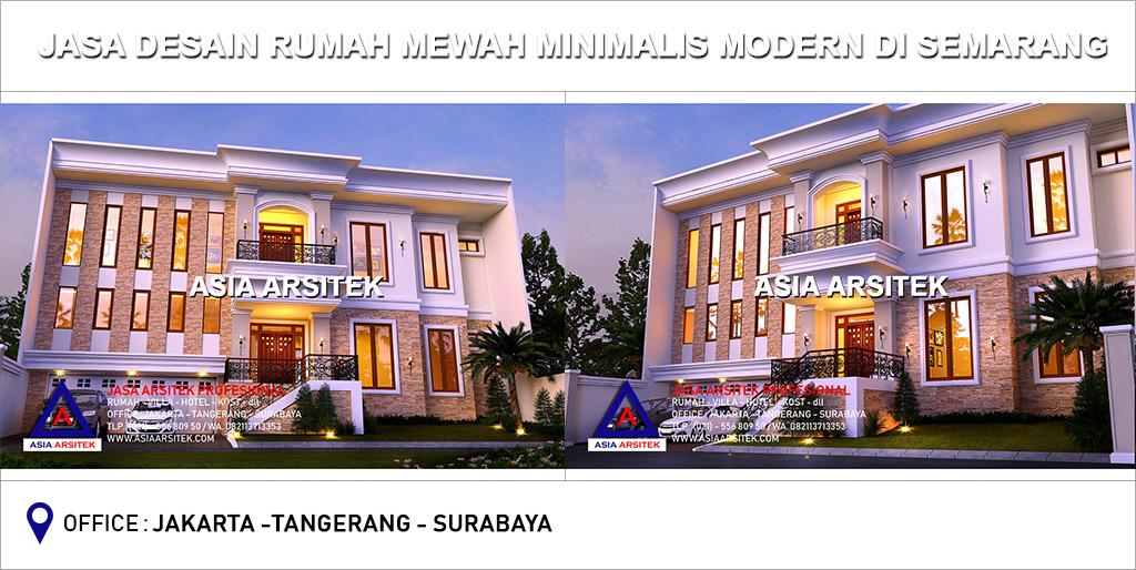 Jasa Arsitek Desain Gambar Rumah Mewah Minimalis Modern Di Semarang