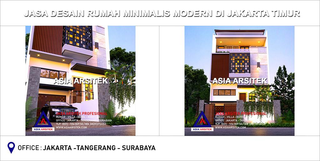 Jasa Desain Rumah Mewah Minimalis Modern Di Jakarta Timur