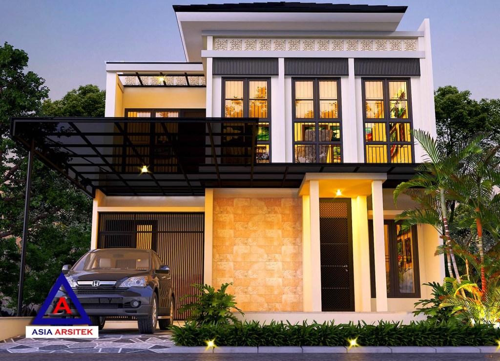 Jasa Arsitek Desain Gambar Rumah Mewah Tropis Modern Di Tangerang 15
