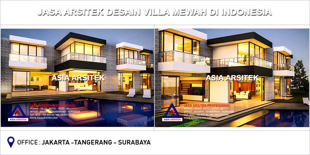 Jasa Arsitek Desain Gambar Villa Mewah Di Indonesia 05