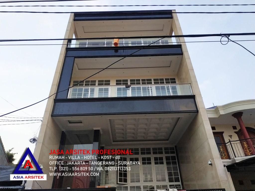 Realisasi Desain Rumah Minimalis Modern Ibu Novi di Jakarta Barat