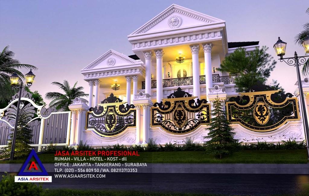 Jasa Desain Rumah Mewah Klasik Di Kebon Jeruk Jakarta Barat 22