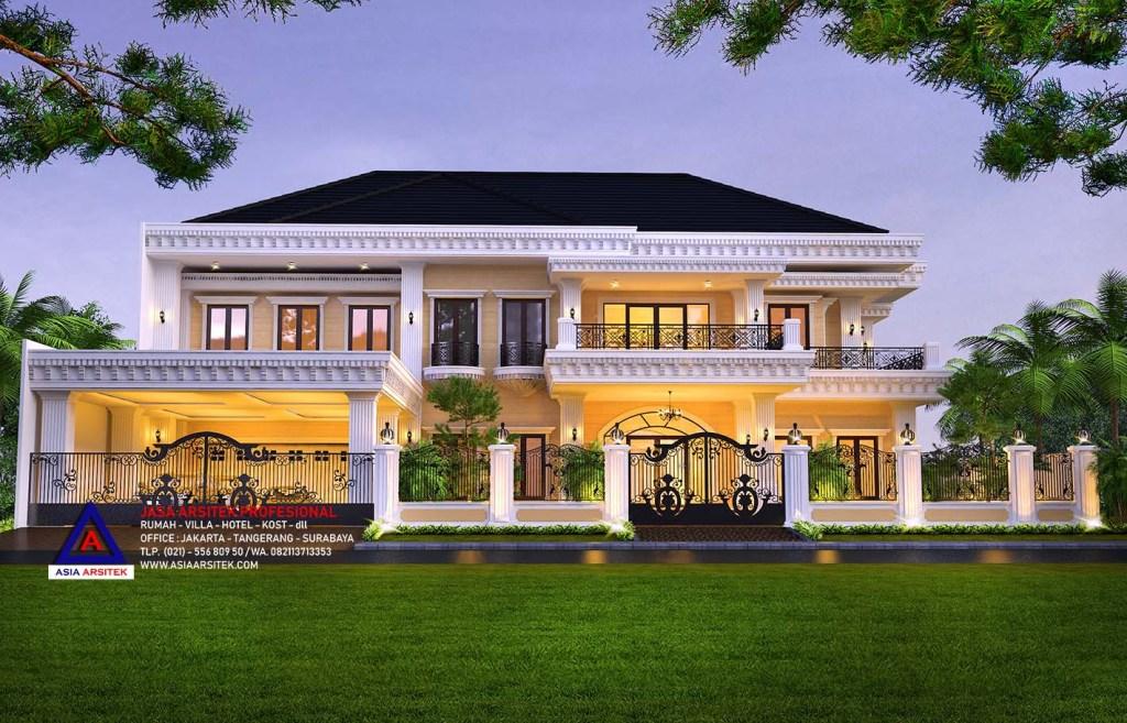 Jasa Desain Rumah Mewah Tropis Di Cibubur Jakarta Indonesia 20
