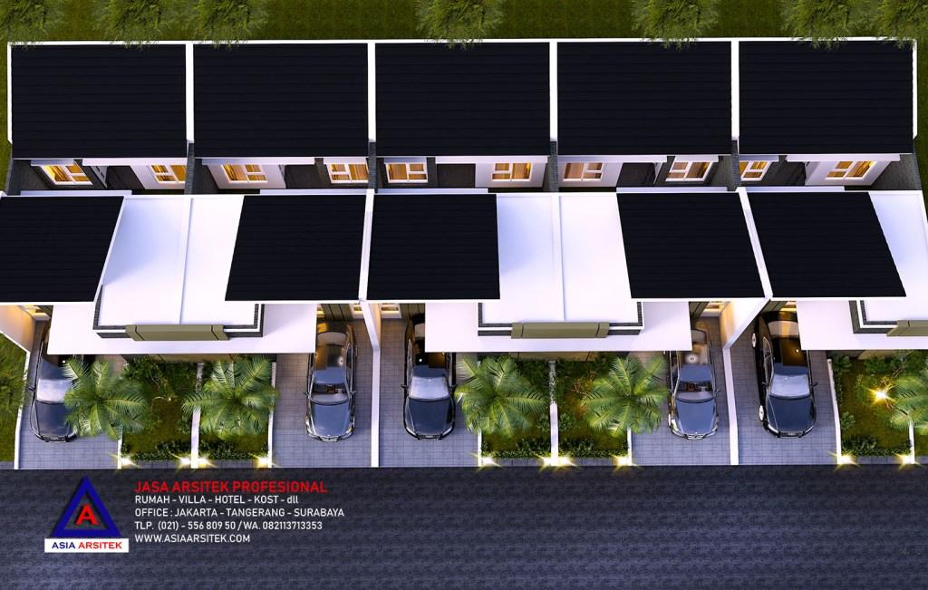 Jasa Arsitek Desain Rumah Cluster Mewah Type 40 di Serpong Tangerang
