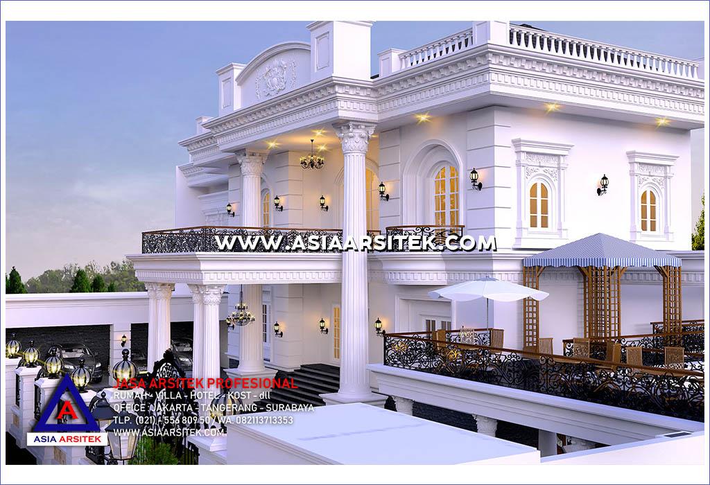 Jasa Desain Rumah Klasik Di Kapuk Jakarta Barat