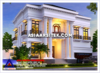 15-Jasa Arsitek Rumah Tangerang-Jasa Desain Rumah Klasik Mewah Tangerang-Asia Arsitek