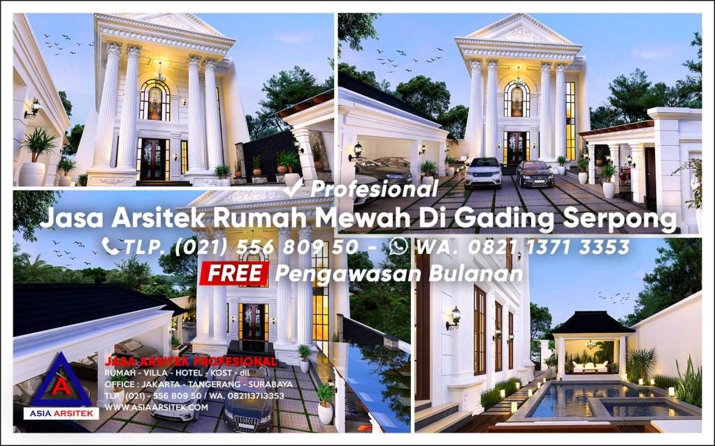 Jasa Arsitek Desain Rumah Mewah Di Gading Serpong Tangerang