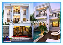 Jasa Arsitek Rumah Bekasi-Jasa Desain Rumah Bekasi-Jasa Gambar Rumah Klasik Mewah Bekasi-Asia Arsitek-1
