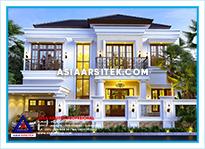 Jasa Arsitek Rumah Bekasi-Jasa Desain Rumah Bekasi-Jasa Gambar Rumah Mewah Tropis Modern Bekasi-Asia Arsitek-1