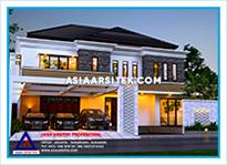 Jasa Arsitek Rumah Bekasi-Jasa Desain Rumah Bekasi-Jasa Gambar Rumah Mewah Tropis Modern Bekasi-Asia Arsitek-22