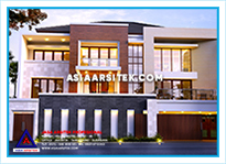 Jasa Arsitek Rumah Bekasi-Jasa Desain Rumah Bekasi-Jasa Gambar Rumah Mewah Tropis Modern Bekasi-Asia Arsitek-31