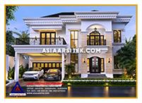 Jasa Arsitek Rumah Jakarta-Jasa Desain Rumah Jakarta Klasik Tropis Mewah Modern-Asia Arsitek-2
