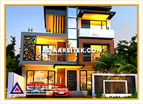 Jasa Arsitek Rumah Jakarta-Jasa Desain Rumah Jakarta Rumah Mewah Minimalis Modern-Asia Arsitek-1