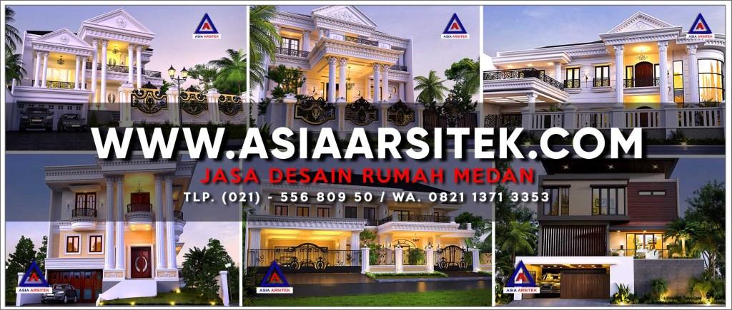 Jasa Desain Rumah Medan - Asia Arsitek