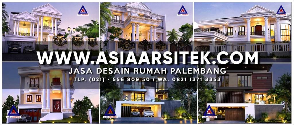 Jasa Desain Rumah Palembang - Asia Arsitek