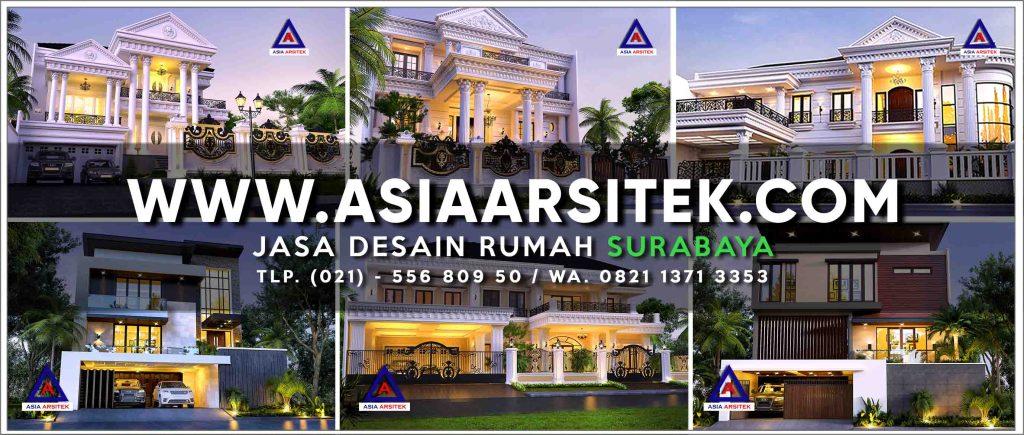 Jasa Desain Rumah Surabaya - Asia Arsitek