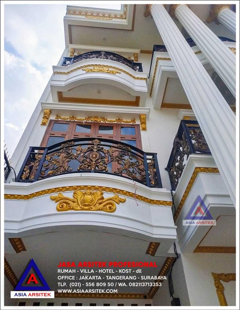 Cara Membangun Rumah Dari Nol Ibu Elisa Di Jakarta Selatan - Bangun Rumah Mewah - Asia Arsitek
