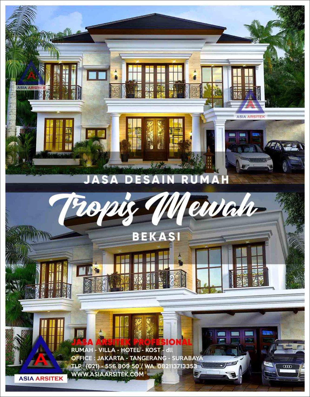 Jasa Arsitek Desain Rumah Mewah Di Jatikarya Bekasi