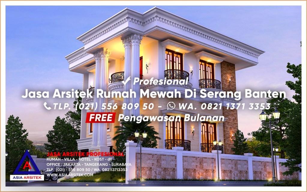 Jasa Arsitek Desain Rumah Mewah Di Serang Banten