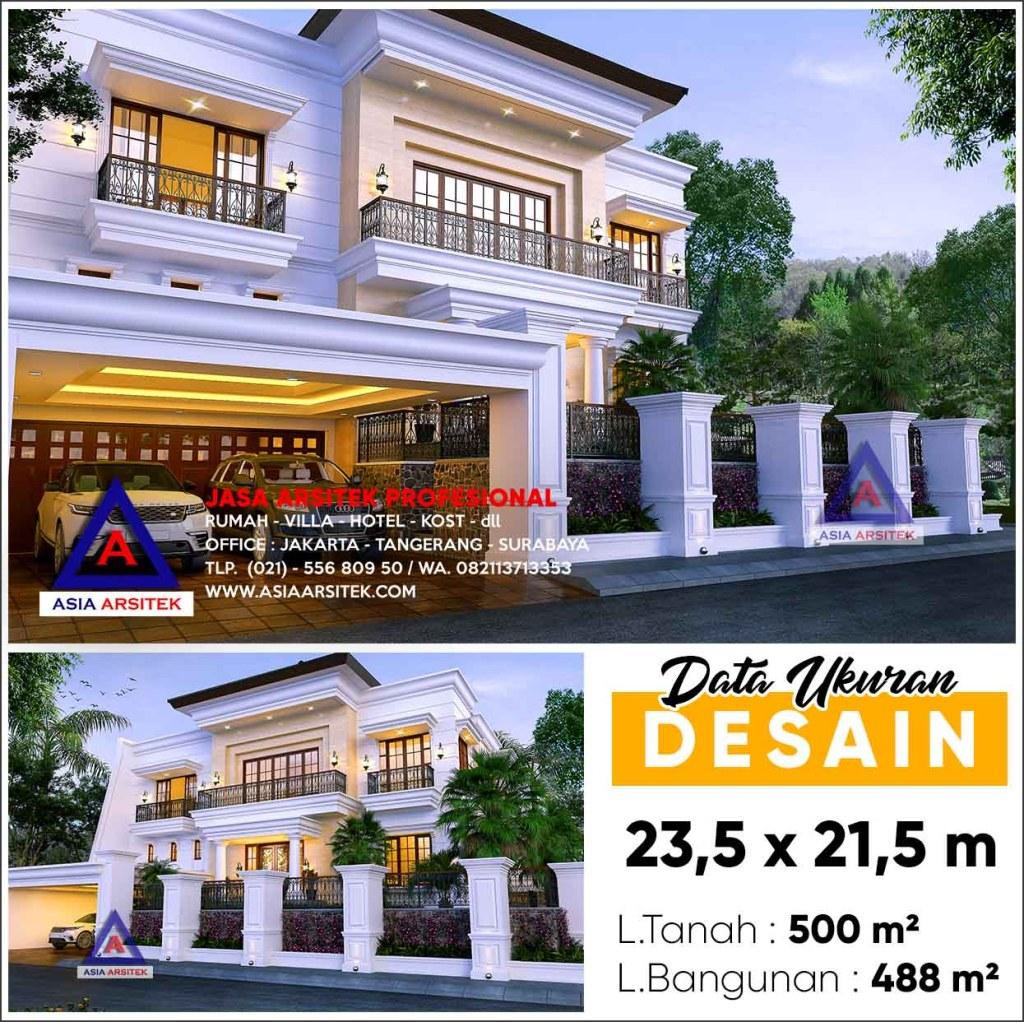 Jasa Arsitek Desain Rumah Mewah Hook Bp Bimo Kebayoran Baru Jakarta Selatan