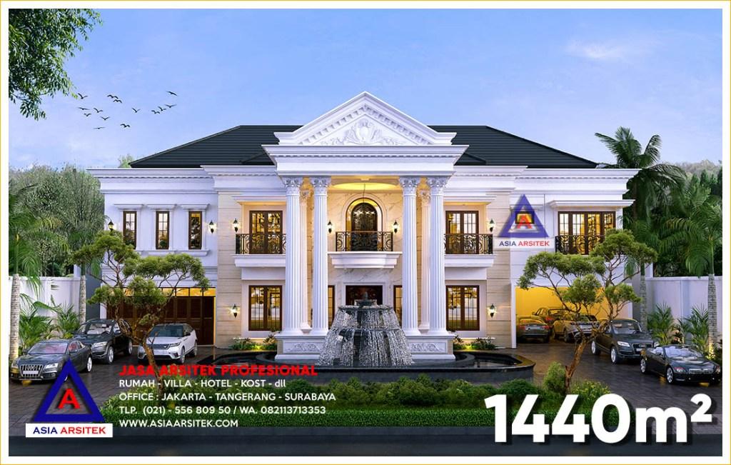 Jasa Arsitek Desain Rumah Mewah Klasik Di Jakarta Selatan