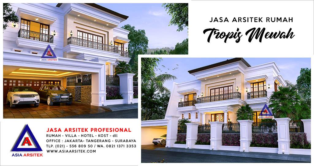 Jasa Desain Gambar Rumah Mewah Di Kebayoran Baru Jakarta Selatan