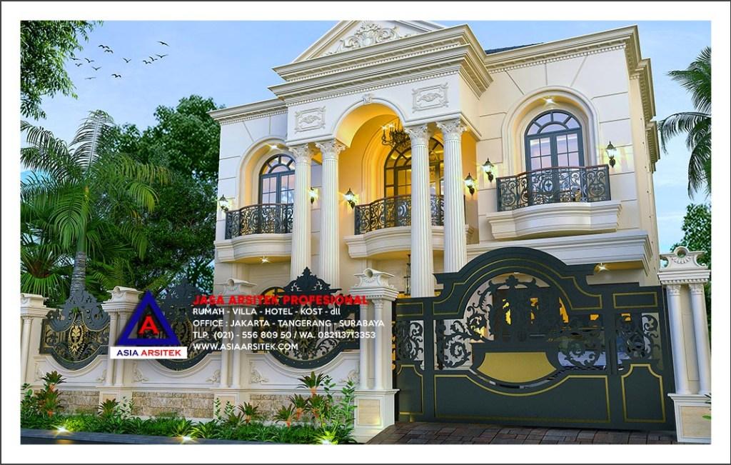 Jasa Gambar Desain Rumah Mewah Klasik Di Jayapura Papua