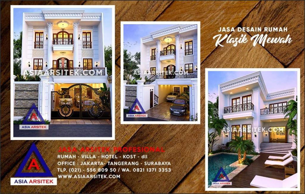 Jasa Arsitek Desain Gambar Rumah Mewah Di Beji Depok