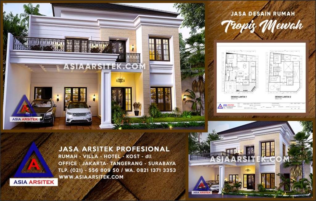 Jasa Arsitek Desain Gambar Rumah Mewah Di Depok Jaya