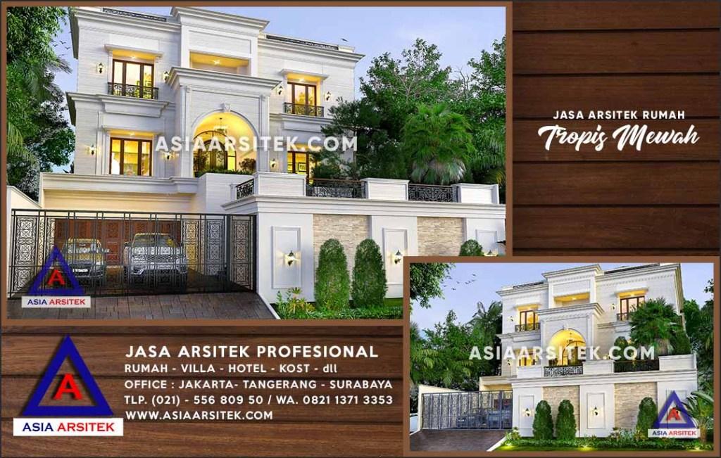Jasa Arsitek Desain Gambar Rumah Mewah Di Jakarta