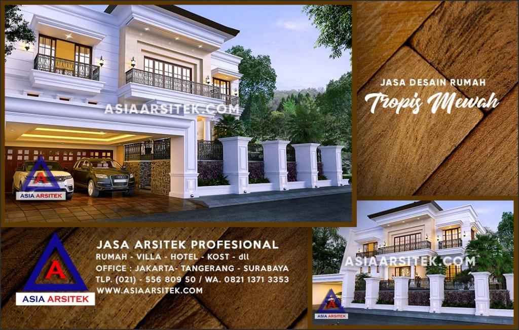 Jasa Arsitek Desain Gambar Rumah Mewah Di Merayung Depok