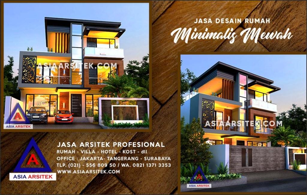 Jasa Arsitek Desain Gambar Rumah Mewah Di Rangkapan Jaya Baru Depok