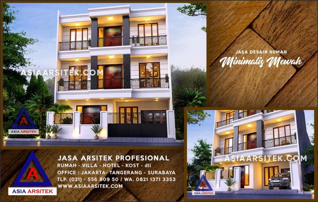 Jasa Arsitek Desain Gambar Rumah Mewah Di Sawangan Lama Depok