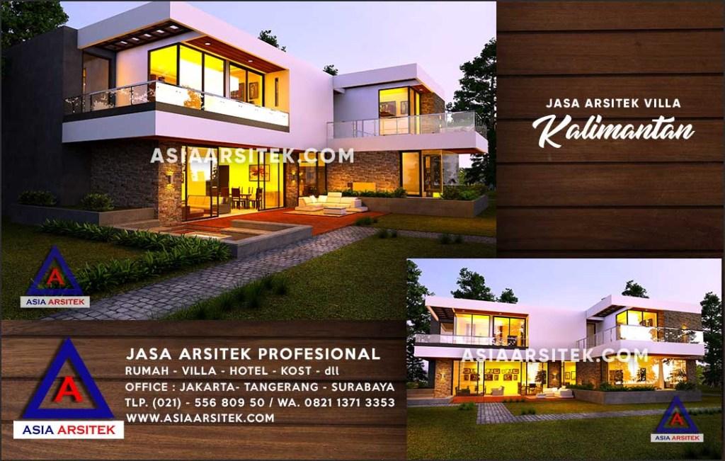 Jasa Arsitek Desain Gambar Villa Mewah Di Kutai Kartanegara Kalimantan