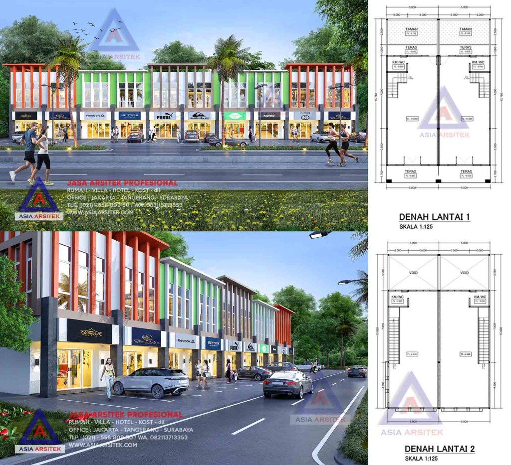 Jasa Arsitek Desain Ruko 2 Lantai Di Pulogadung Jakarta Timur