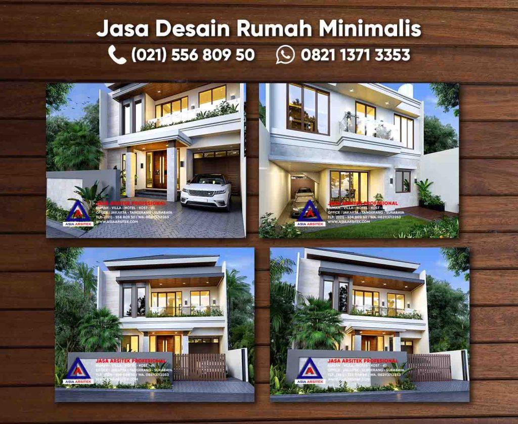 Jasa Desain Gambar Rumah 2 Lantai Minimalis Cikupa Tangerang