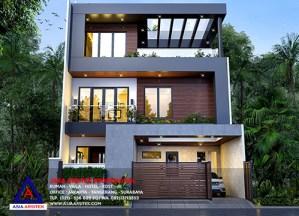 Jasa Desain Arsitek Gambar Rumah Minimalis 3 Lantai Di Menteng Dalam Tebet Jakarta Selatan
