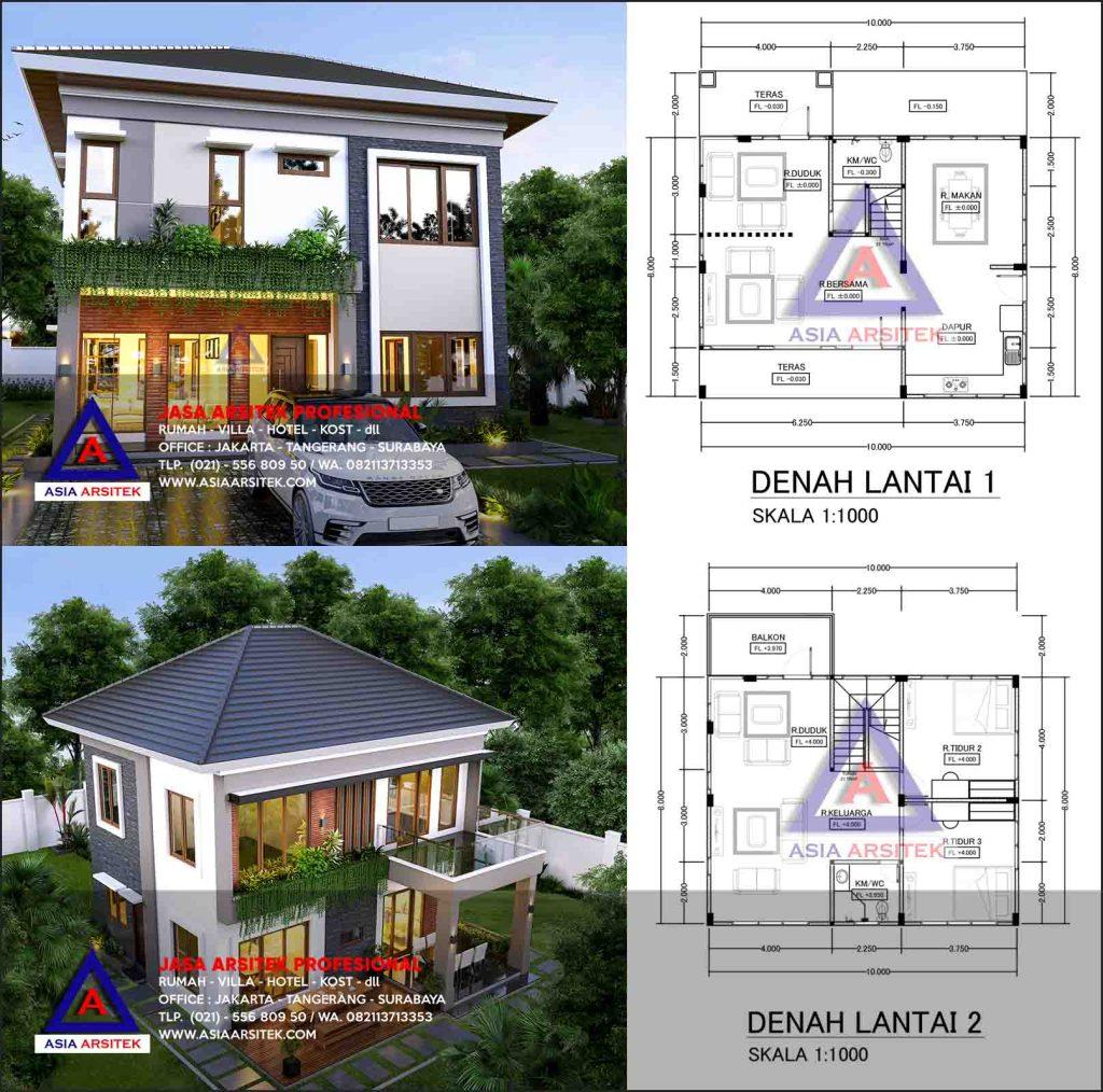 Jasa Arsitek Desain Villa Mewah Private House Di Ciampea Bogor Jawa Barat