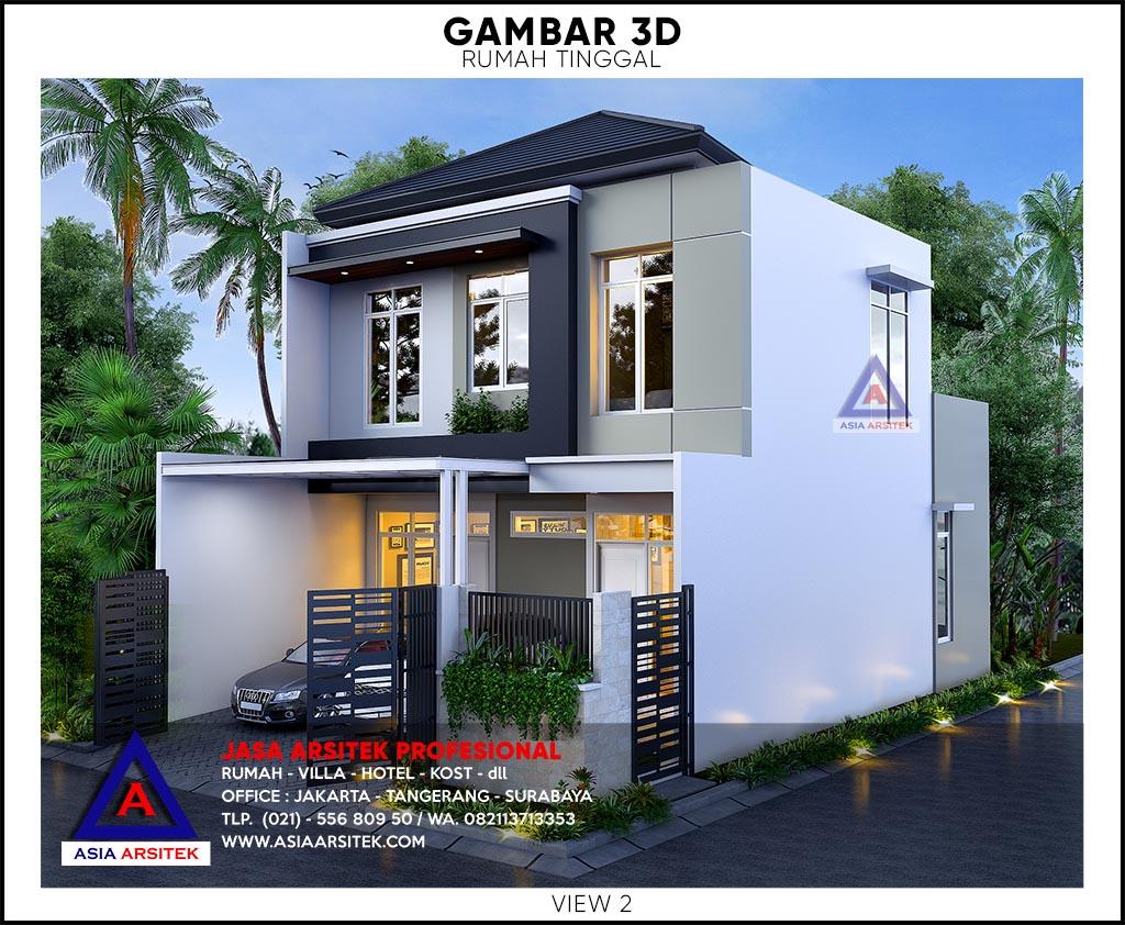 47 Desain Rumah Minimalis 2 Lantai 2021 Homsweetimpian