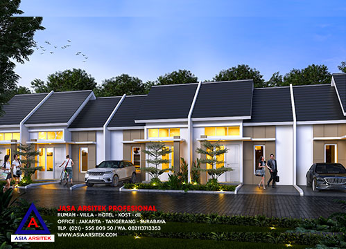 Jasa Arsitek Desain Perumahan Type 30/60 Minimalis Di Cikahuripan Cileungsi Bogor Jawa Barat