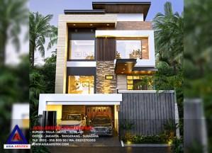 Jasa Arsitek Desain Rumah Minimalis Kontemporer 3 Lantai Di Pondok Hijau Golf Gading Serpong Tangerang