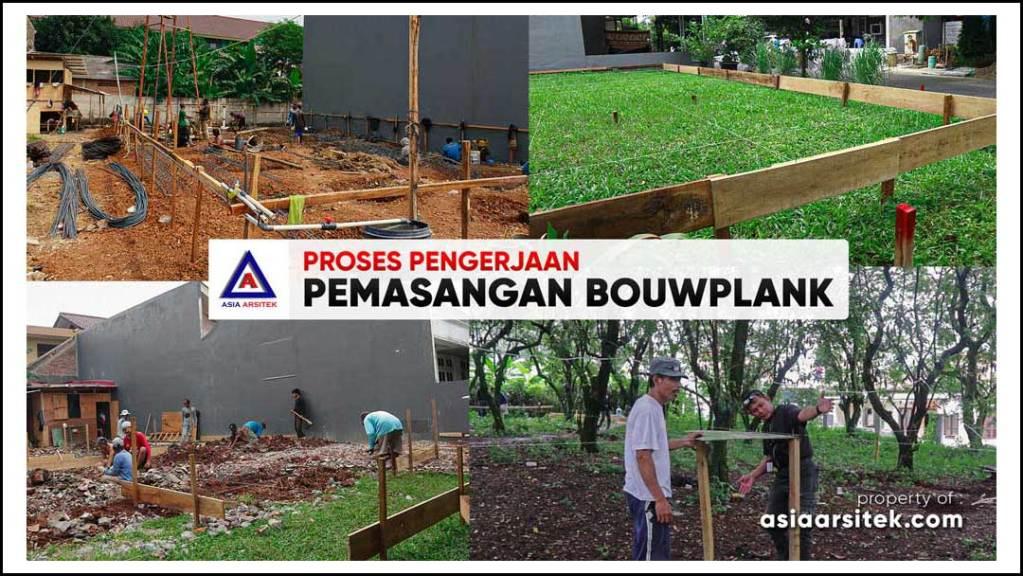 Contoh Proses Pengerjaan Pemasangan Bouwplank Rumah Tinggal