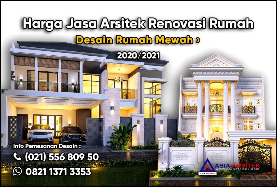 Harga Jasa Arsitek Renovasi Rumah 2020 2021