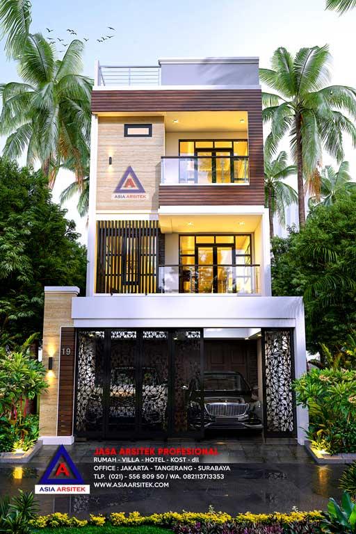 Jasa Arsitek Desain Rumah Minimalis 4 Lantai Di Kelapa Gading