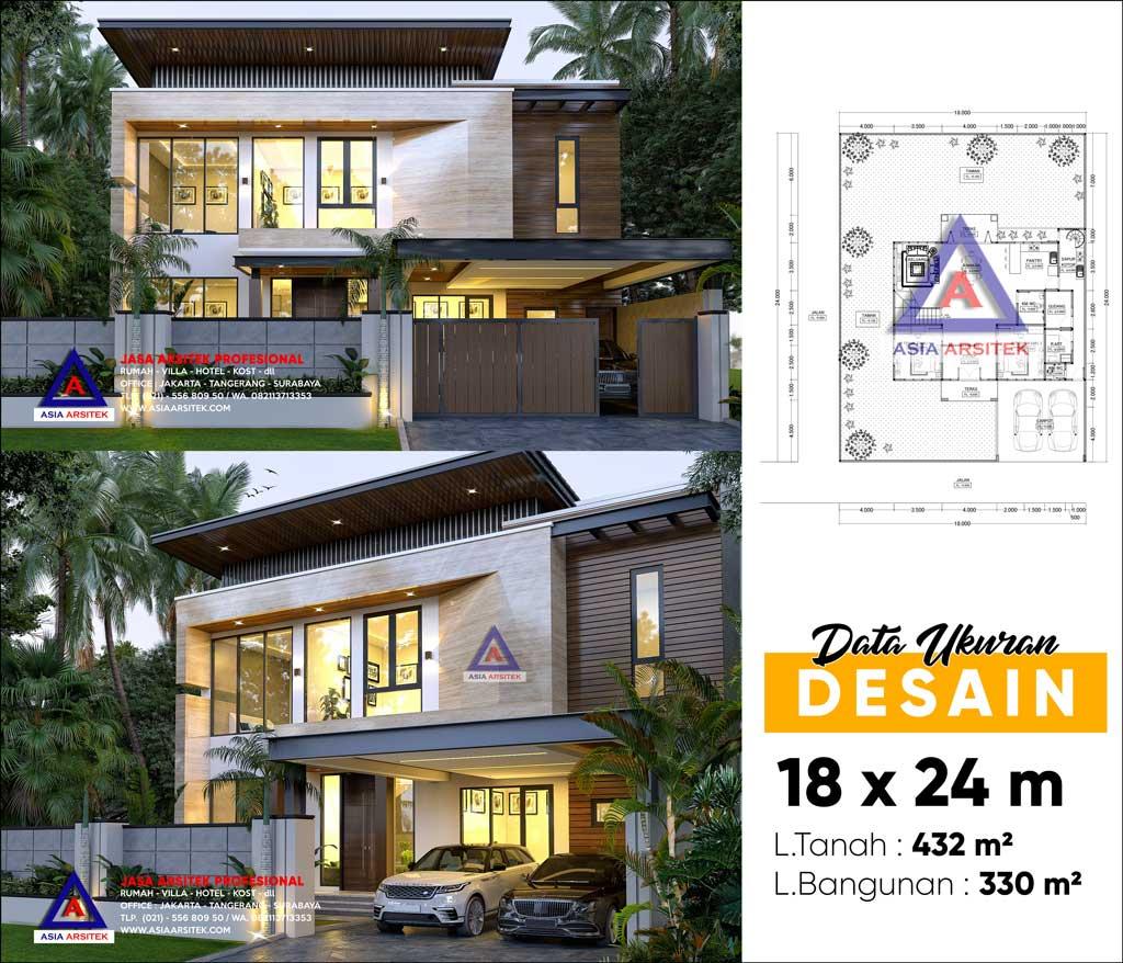 Jasa Arsitek Desain Rumah Mewah Minimalis Kontemporer di Cakung Jakarta Timur
