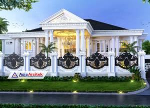 Jasa Arsitek Desain Rumah Klasik Mewah 2 Lantai di Nusa Tenggara Timur NTT