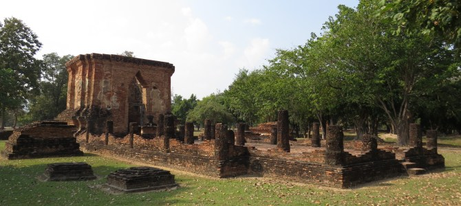Exploring Thailand's first capital Sukothai's West zone